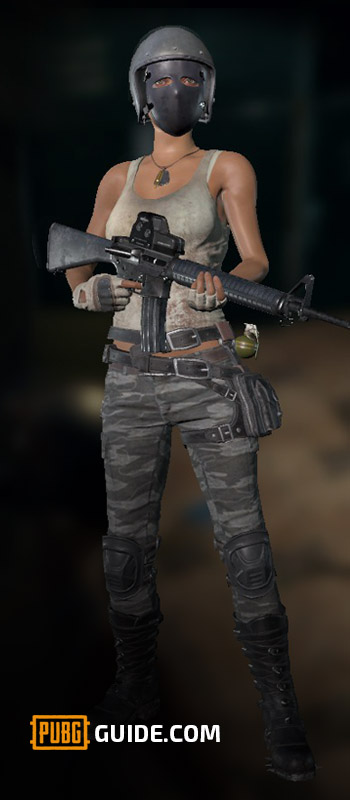 PUBG_M16A4_Character