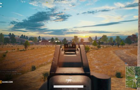 PUBG_UMP9_iron_sights_view